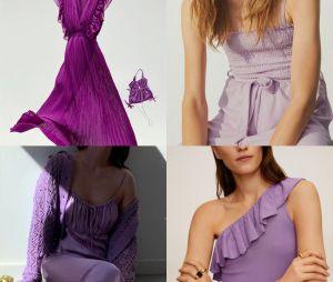 Zara, H&M, Mango, Uniqlo, C&A... D'après une étude, le violet est LA couleur tendance de l'été