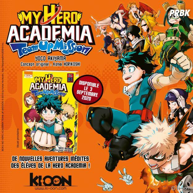 My Hero Academia : le spin-off du manga débarque enfin en France