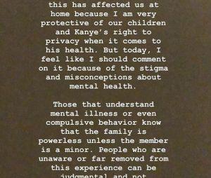 """Kim Kardashian : après le craquage de Kanye West, elle s'exprime sur ses """"troubles bipolaires"""""""