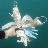 Covid-19 : le constat alarmant d'un pêcheur face aux masques jetés n'importe comment