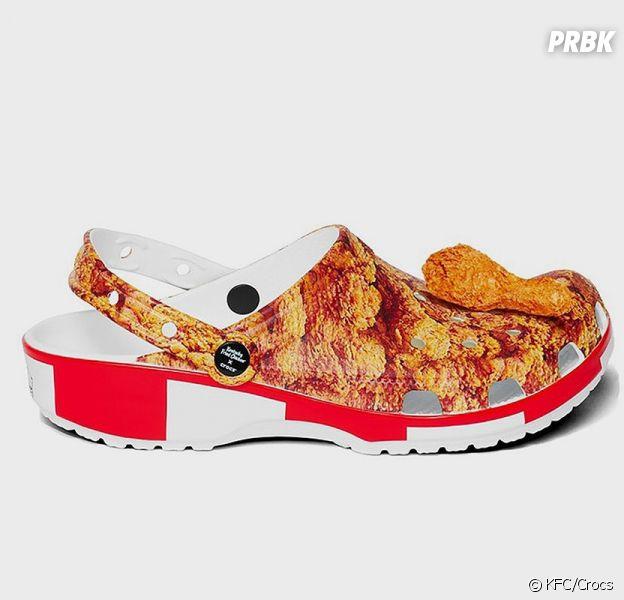KFC x Crocs : les chaussures qui sentent le poulet débarquent