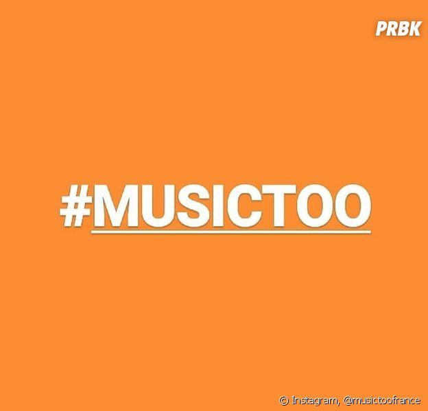 #MusicToo : quand le mouvement #MeToo se lance dans l'industrie musicale, les victimes de violences sexuelles sont inviter à témoigner de façon anonyme ou pas