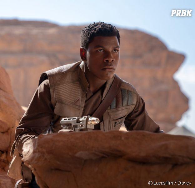 Star Wars : John Boyega (Finn) critique Disney sur les personnages de couleur