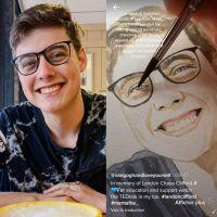 Mort de Landon Clifford : une TikTokeuse peint son portrait pour le mois de la prévention au suicide