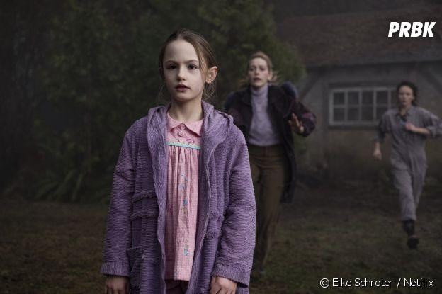 The Haunting of Bly Manor :  Amelia Bea Smith dans le rôle de Flora