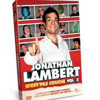 Jonathan Lambert n'est pas couché Vol. 3 ... le DVD sort aujourd'hui
