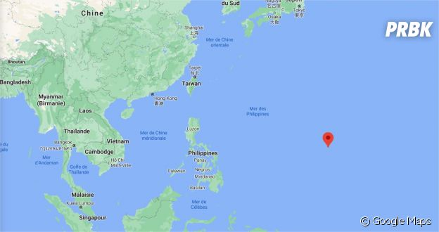 Un Noël tombé du ciel a été tourné à Guam, île située en plein océan Pacifique
