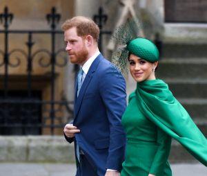 Meghan Markle et le Prince Harry en mars 2020