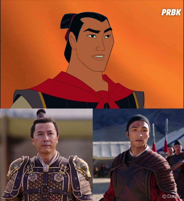 Mulan : Li-Shang devient deux personnages, Honghui et Tung