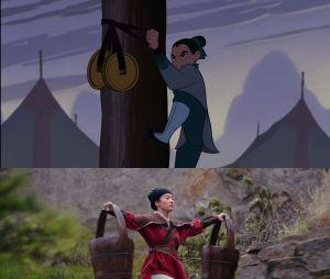 Mulan : l'épreuve de la flèche est différente