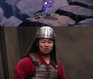 Mulan : Cri-Kee est un humain dans le remake