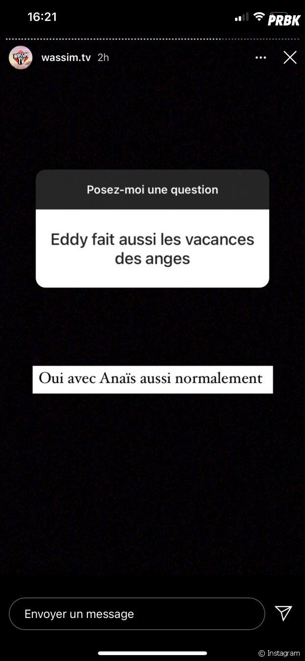 Les Vacances des Anges 4 : Anaïs Camizuli et Eddy au casting ?