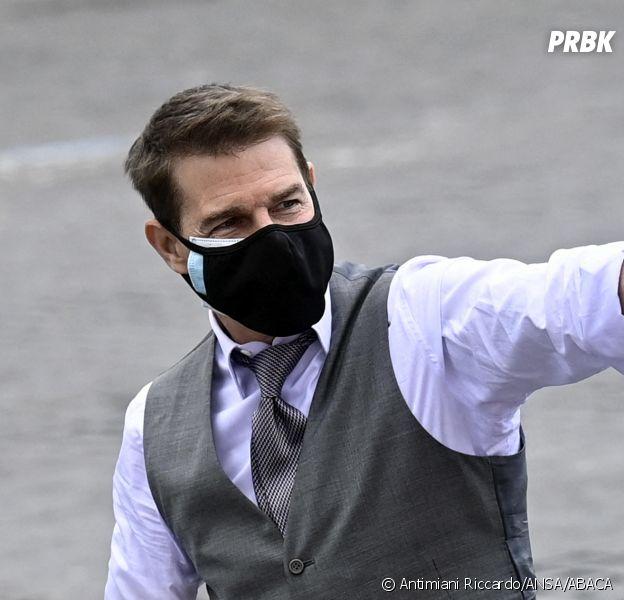 Tom Cruise sur le tournage de Mission Impossible 7