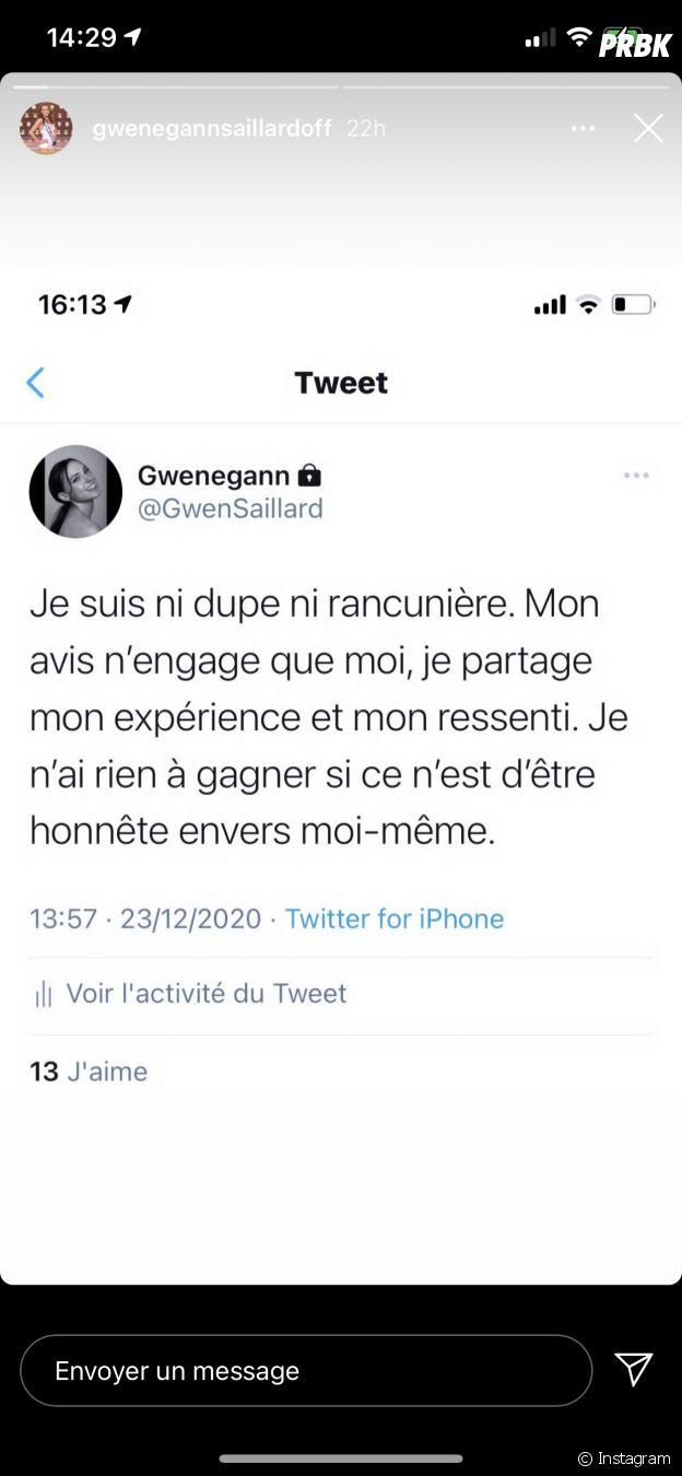 Gweneggan Saillard (Miss Champagne-Ardenne 2020) répond à Sylvie Tellier