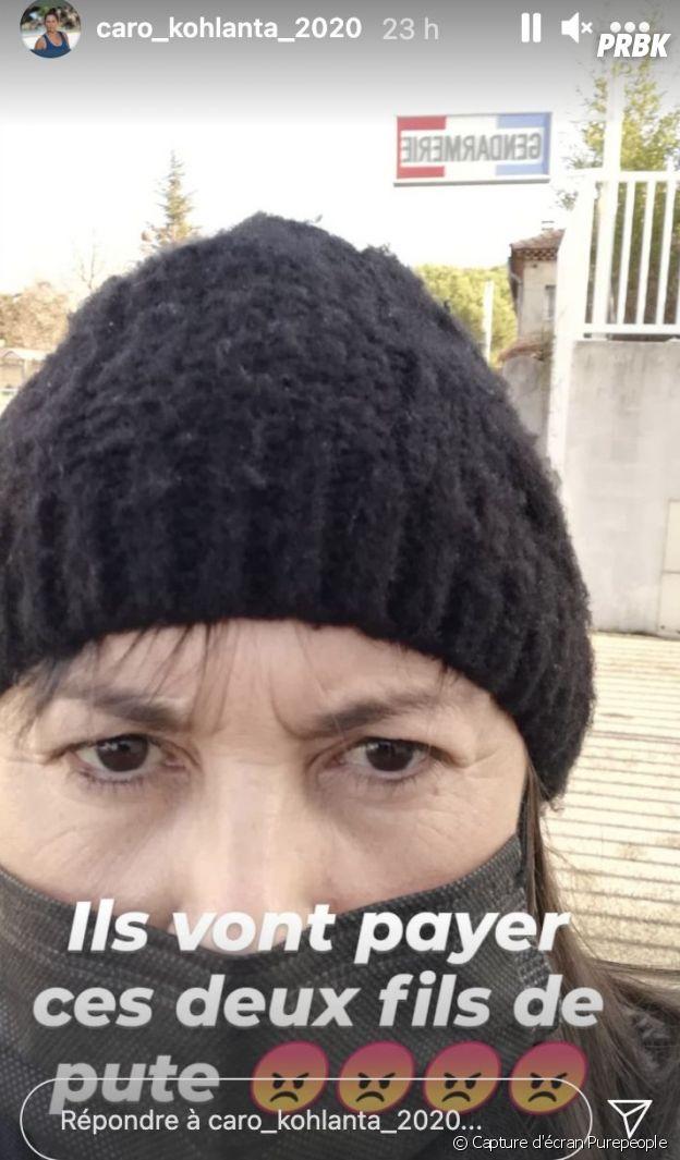 """Carole (Koh Lanta 2020 / Koh Lanta, les 4 terres) agressée, elle raconte : """"Pour me protéger, mon fils s'est fait tabasser"""""""