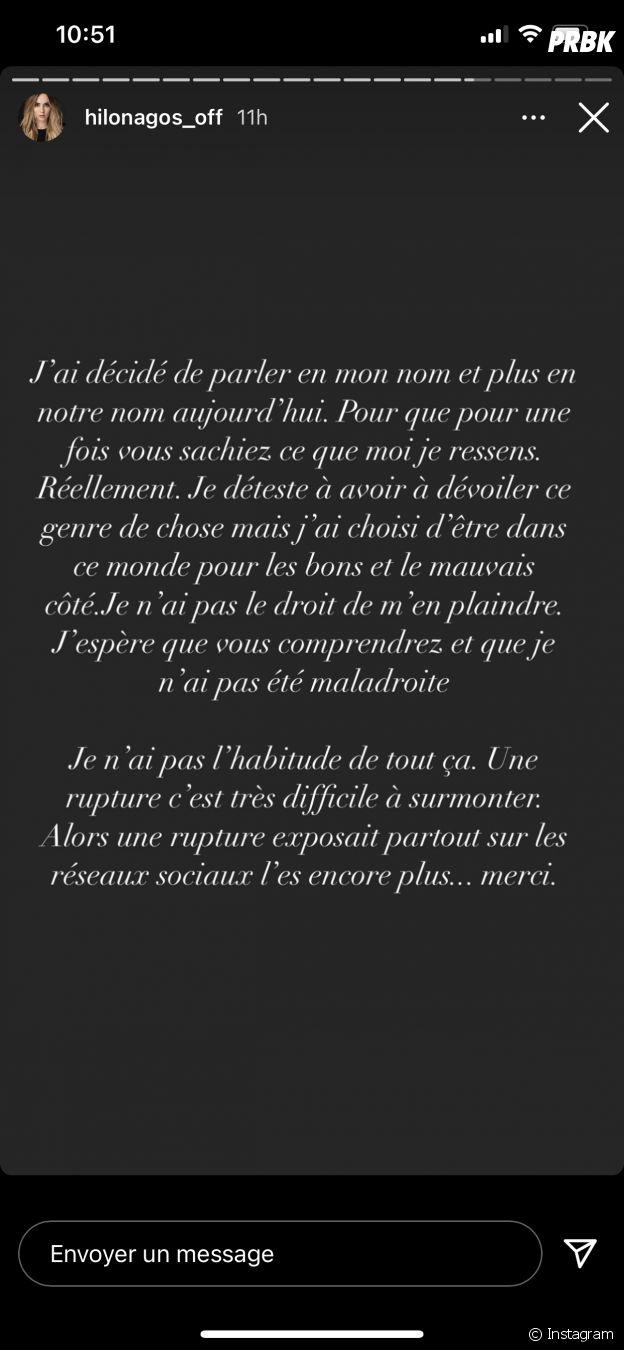Hilona (Les Princes) s'explique sur sa rupture définitive avec Julien Bert