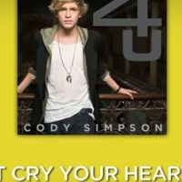 Cody Simpson... découvrez son nouveau titre Don't cry your heart out