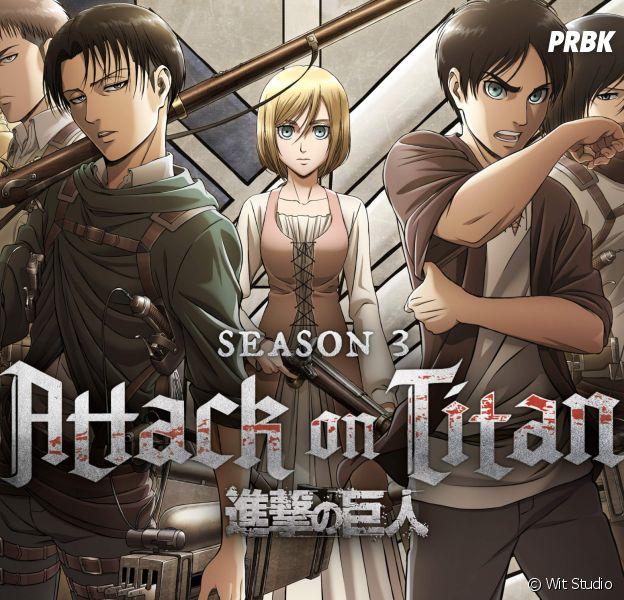 L'Attaque des Titans saison 3 : Netflix annonce enfin la suite de l'anime et sa date de sortie