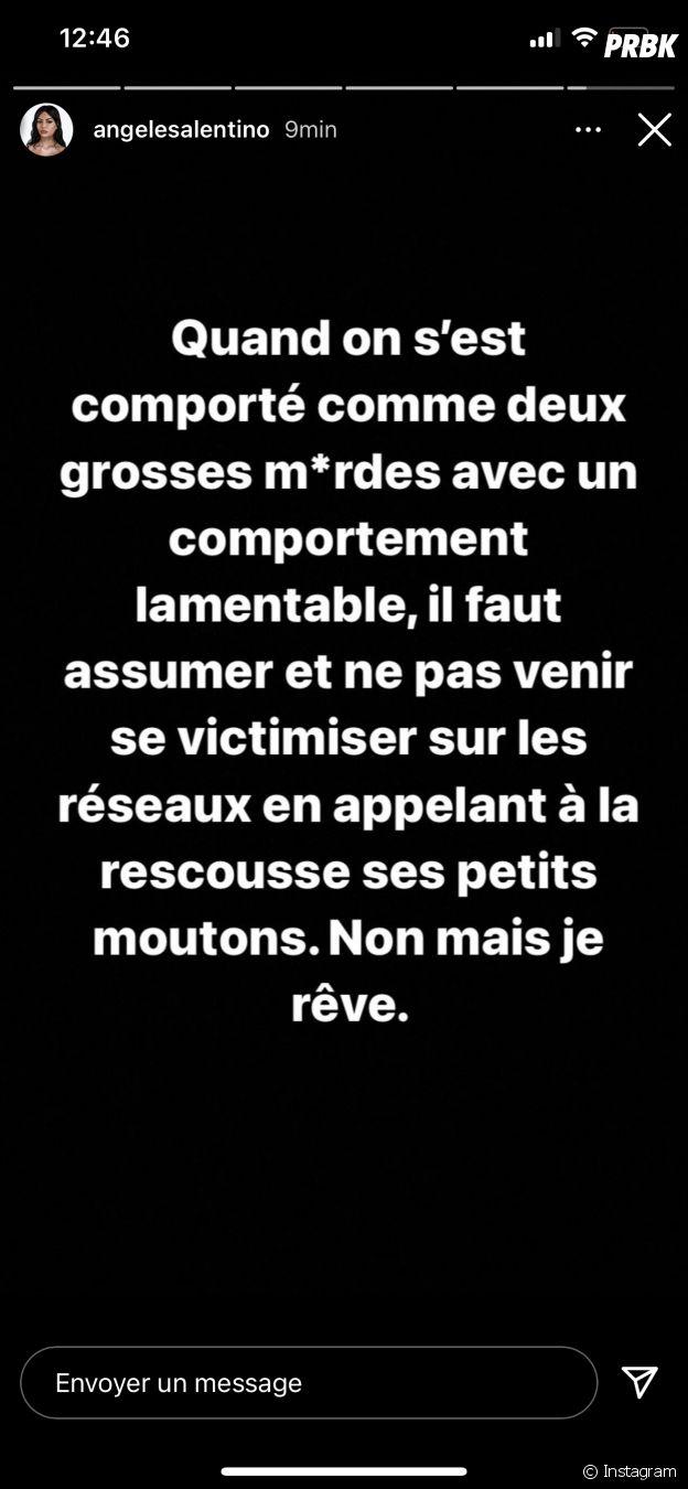 Angèle Salentino (Les Vacances des Anges 4) réagit à son exclusion, après son altercation avec Raphaël Pépin