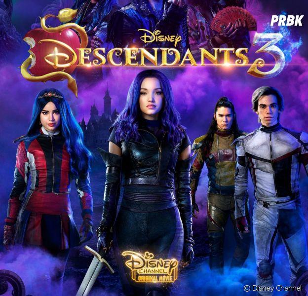Descendants : les personnages de retour pour un film animé