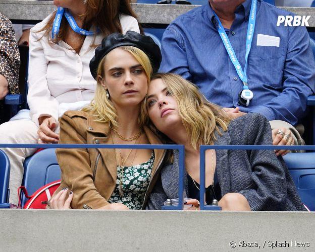 Ashley Benson avec son ex Cara Delevingne