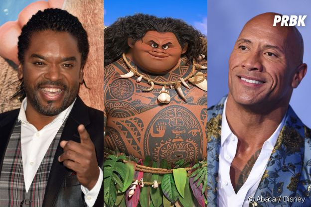Vaiana : Anthony Kavanagh double Maui en VF et Dwayne Johnson le double en Vo