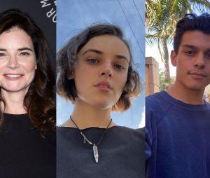 Betsy Brandt, Ava Capri et Anthony Keyvan au casting de la saison 2 de Love Victor