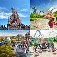 TEST Disneyland Paris, Parc Astérix, Futuroscope... Quel parc d'attractions est fait pour toi ?