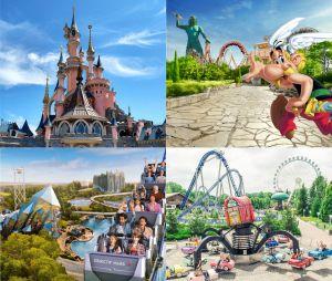 TEST Disneyland Paris, Parc Astérix, Futuroscope ou Nigloland Quel parc d'attractions est fait pour toi ?