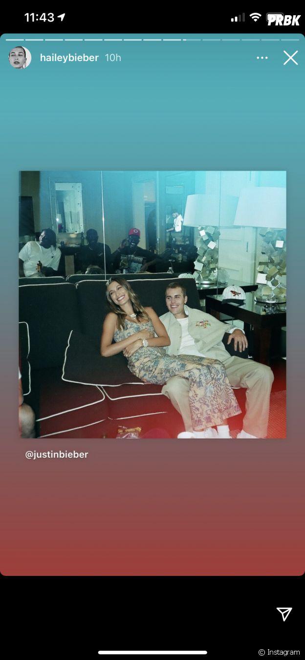 Hailey et Justin Bieber en amoureux sur Instagram
