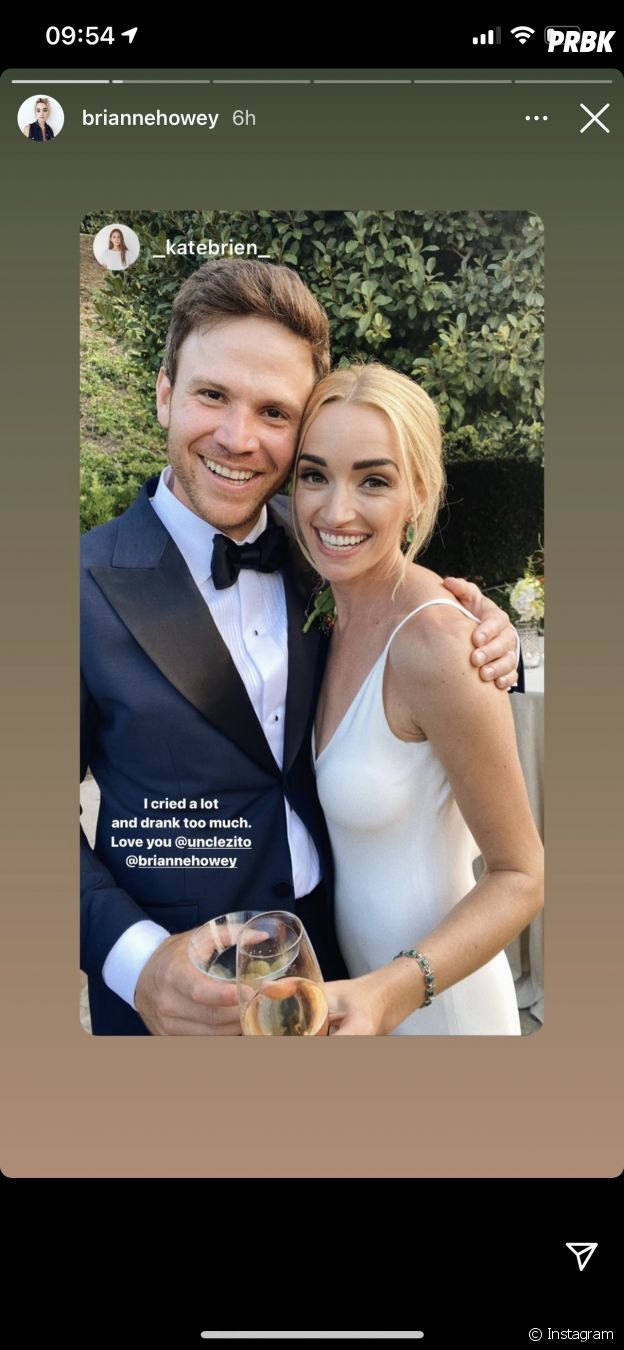 Brianne Howey (Ginny & Georgia) s'est mariée à Matt Ziering : les photos de la cérémonie