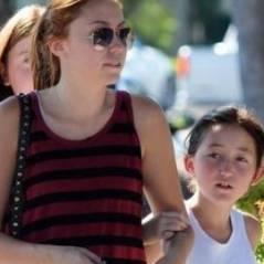 Noah Cyrus ... elle fait tout pour réconcilier ses parents