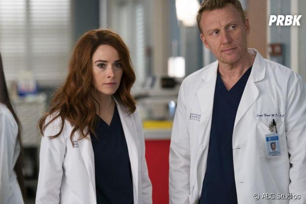 Megan et Owen Hunt dans Grey's Anatomy