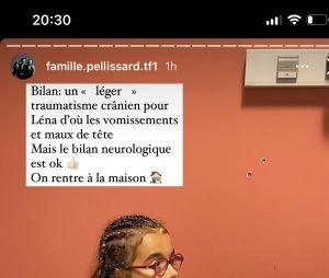 Amandine Pellissard : sa fille Léna emmenée aux urgences, elle donne de ses nouvelles