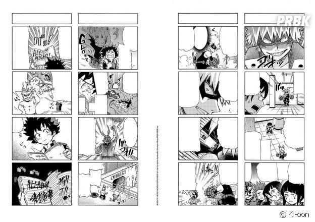 My Hero Academia Smash : planches de ce spin-off humoristique