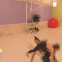Danse avec les stars sur TF1 demain ... VIDEO ... la chute de Sofia Essaidi