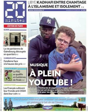 keenan cahill en une du journal 20 minutes purebreak. Black Bedroom Furniture Sets. Home Design Ideas