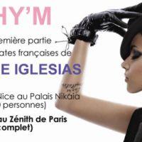 Shy'm ... elle fera la première partie d'Enrique Iglesias en France