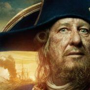 Pirates des Caraïbes 4 ... Barbe Noire et Barbosa se montrent (photos)