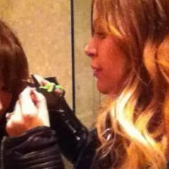 Hilary Duff ... Les photos Twitter de sa nouvelle coupe de cheveux