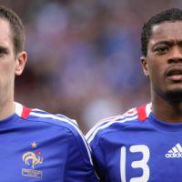 L'équipe de France face au Luxembourg ce soir ... Ribery et Evra titulaires