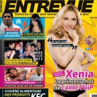 Carré ViiiP ... Xénia nue en couv' d'Entrevue (PHOTO)