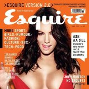 Kelly Brook ... so sexy en une du magazine Esquire (PHOTO)