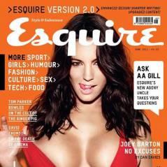 Kelly Brook ... so sexy en une du magazine Esquire (PHOTO)