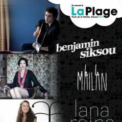 LaPlage... Benjamin Siksou en concert à la Villette