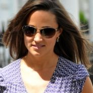Pippa Middleton ... petite robe violette pour une séance de shopping (PHOTOS)