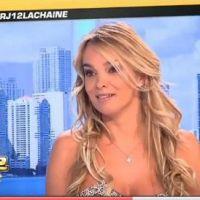 Virginie Caprice en VIDEO... elle montre ses seins à la télévision
