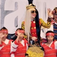 Lady Gaga : la reine des GaGa Monsters à Taiwan avant le clip de You and I (PHOTOS)
