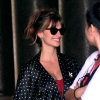 Penelope Cruz : à Rome pour le nouveau film de Woody Allen (PHOTOS)