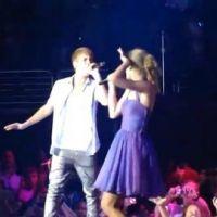 VIDEO - Taylor Swift en concert à L.A. et tout d'un coup ... Justin Bieber la rejoint sur scène